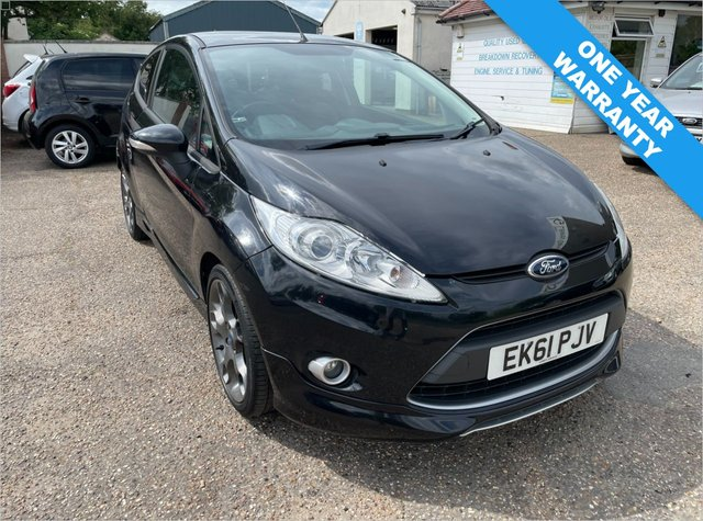 USED 2011 61 FORD FIESTA 1.6 METAL 3d 132 BHP ONE YEAR WARRANTY INCLUDED /  FULL FORD HISTORY  WITH CAM BELT DONE 2019 / FULL LEATHER / PRIVACY GLASS
