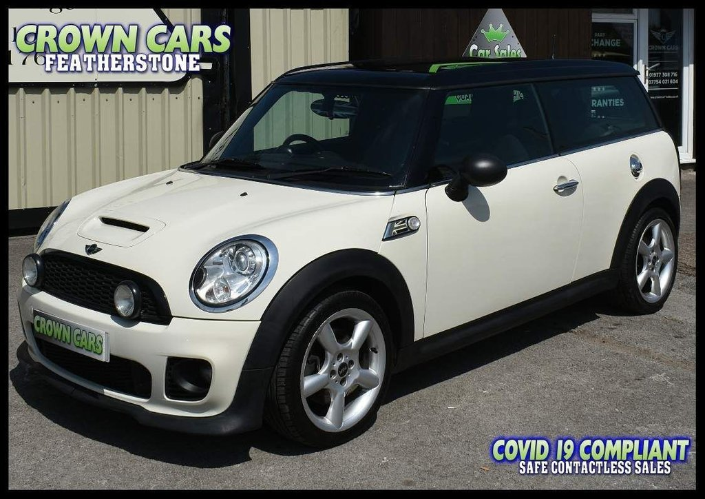 USED 2009 09 MINI CLUBMAN 1.6 Cooper S 5dr OUTSTANDING ORIGINAL CONDITION