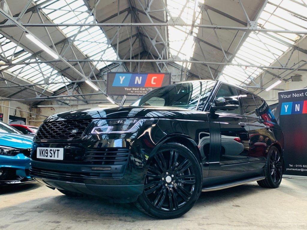 USED 2019 19 LAND ROVER RANGE ROVER 4.4 SD V8 Vogue SE Auto 4WD (s/s) 5dr PAN ROOF - V8 - PAN + 6.9APR