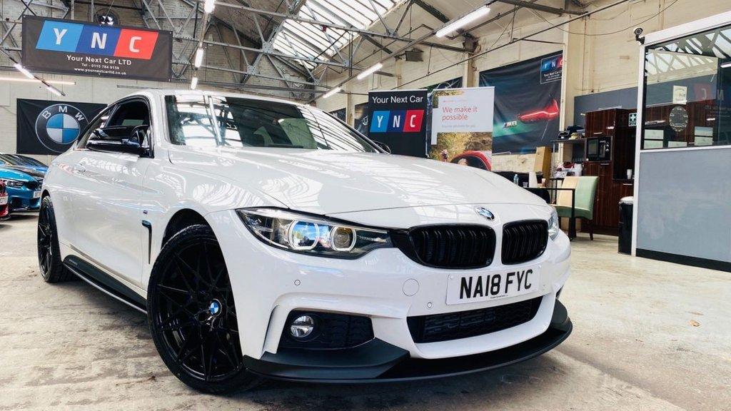 USED 2018 18 BMW 4 SERIES 2.0 420d M Sport Auto xDrive (s/s) 2dr PERFORMANCEKIT+XDRIVE+PLUSPACK