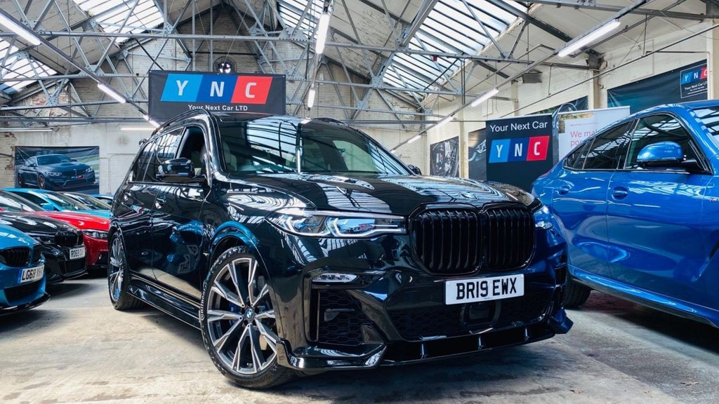 USED 2019 19 BMW X7 3.0 30d M Sport Auto xDrive (s/s) 5dr SKYLOUNGE+22S+HUGESPEC