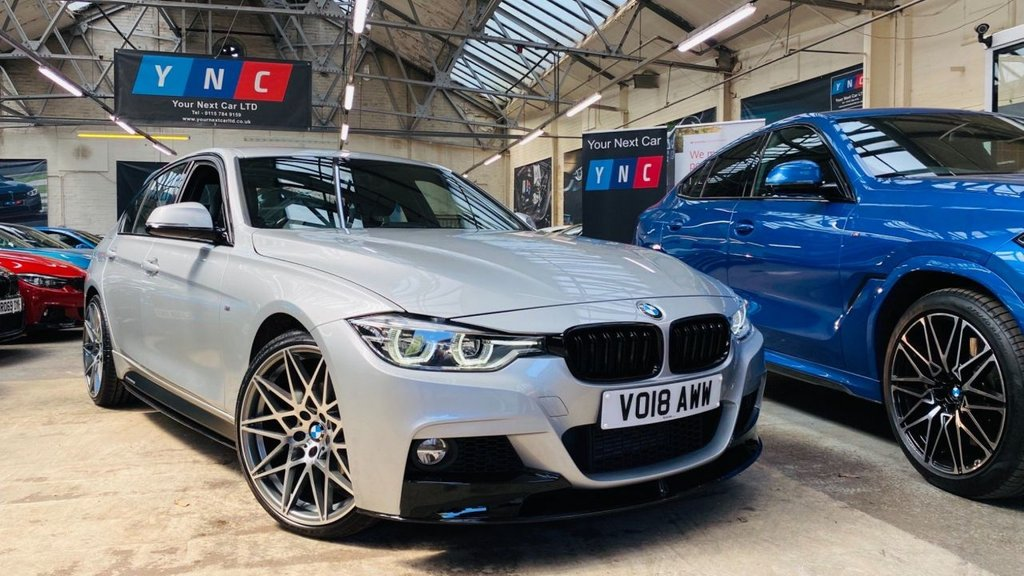 USED 2018 18 BMW 3 SERIES 2.0 320d BluePerformance M Sport (s/s) 4dr PERFORMANCEKIT+20S+LOWMILES!