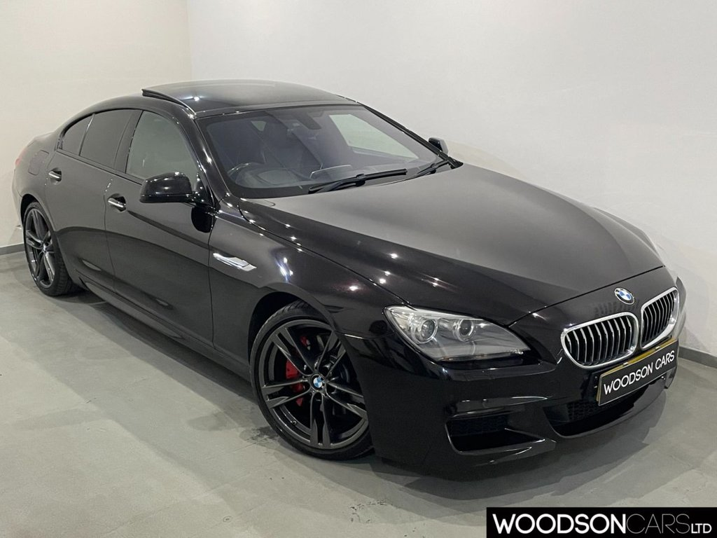 USED 2014 64 BMW 6 SERIES 3.0 640D M SPORT GRAN COUPE 4d 309 BHP Upgraded Merino Leather / Professional Navigation / DAB / 20inch Alloy Wheels