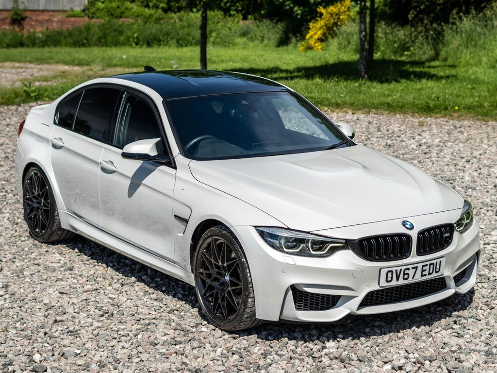 USED 2017 67 BMW M3 3.0 M3 COMPETITION PACKAGE 4d 444 BHP Free Next Day Nationwide Delivery