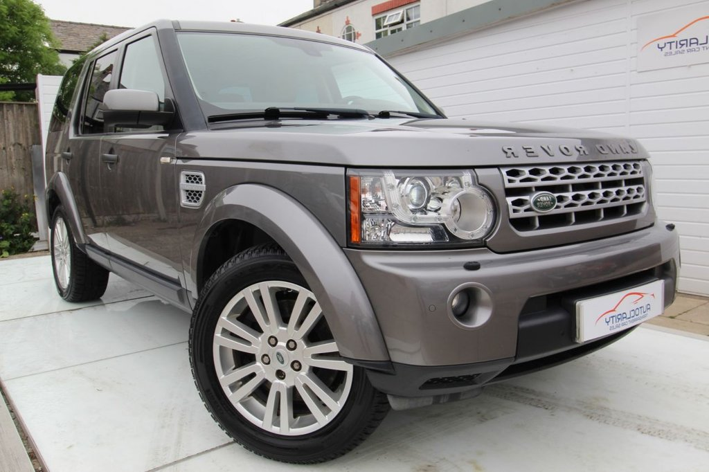 USED 2011 60 LAND ROVER DISCOVERY 3.0 4 TDV6 HSE 5d 245 BHP 2 Keys - 7 Seats - History