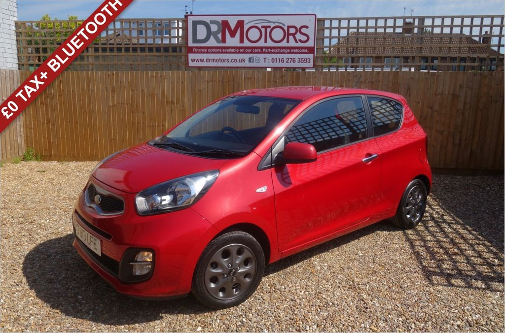 USED 2013 13 KIA PICANTO 1.0 CITY 3d 68 BHP *** 6 MONTHS NATIONWIDE GOLD WARRANTY ***