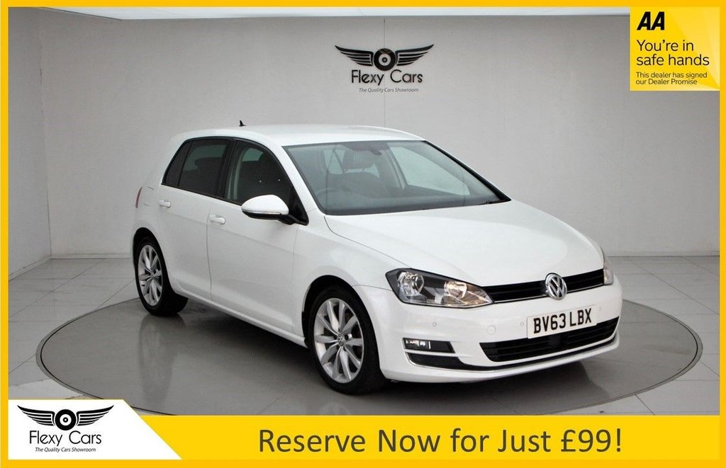 USED 2013 63 VOLKSWAGEN GOLF 1.4 GT TSI ACT BLUEMOTION TECHNOLOGY 5d 138 BHP