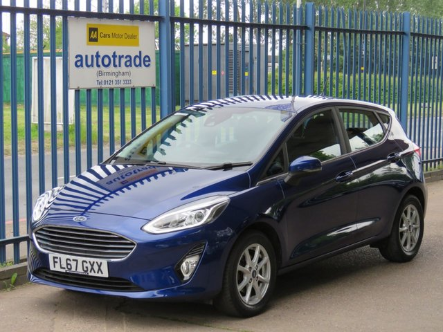 USED 2017 67 FORD FIESTA 1.0 ZETEC 5d 99 BHP.1 OWNER-SAT NAV-APPLE CAR PLAY ANDROID AUTO-REAR PARKING SENSORS SAT NAV-REARSENSORS-CRUISE-DAB-CAR PLAY APPS-AIR CON-BLUETOOTH-1 OWNER-SERVICE HISTORY