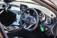 USED 2015 65 MERCEDES-BENZ C-CLASS 2.1 C300 H AMG LINE 4d AUTO 204 BHP