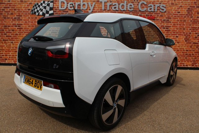 BMW I3 at Derby Trade Cars