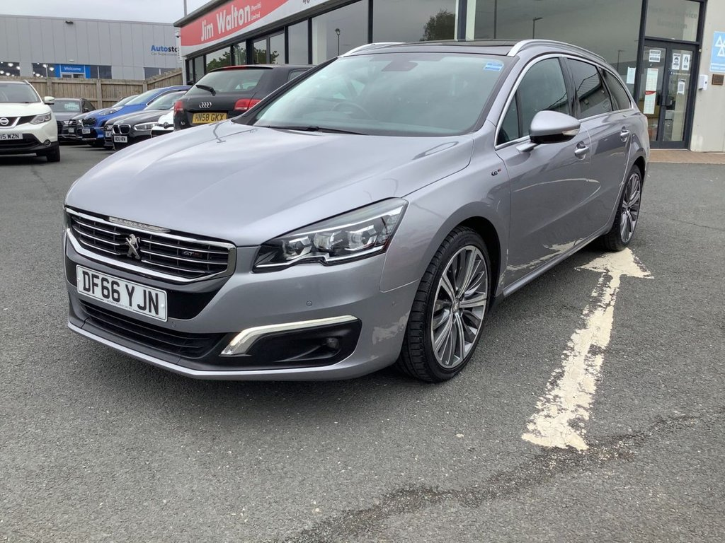 USED 2016 66 PEUGEOT 508 2.0 BLUE HDI S/S SW GT 5d 180 BHP