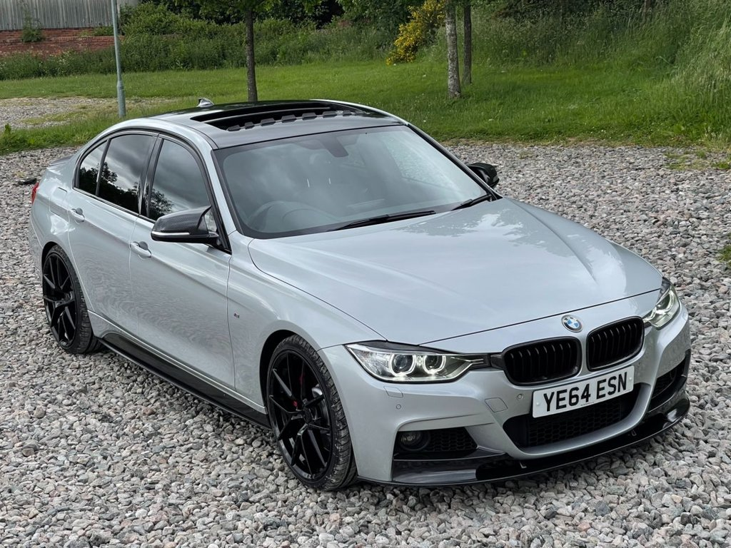 USED 2014 64 BMW 3 SERIES 2.0 320D XDRIVE M SPORT 4d 181 BHP Free Next Day Nationwide Delivery