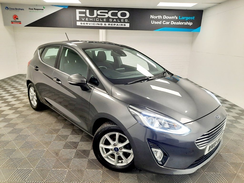 USED 2018 18 FORD FIESTA 1.0 ZETEC 5d 99 BHP NATIONWIDE DELIVERY AVAILABLE!