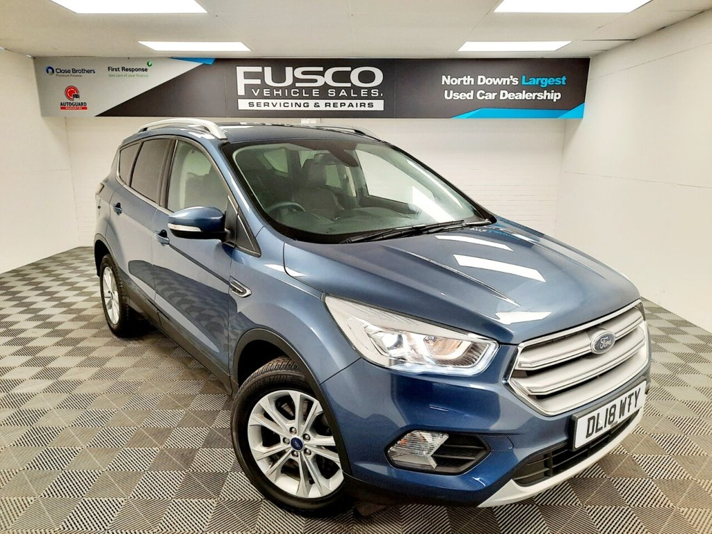 USED 2018 18 FORD KUGA 1.5 TITANIUM TDCI 5d 118 BHP NATIONWIDE DELIVERY AVAILABLE!