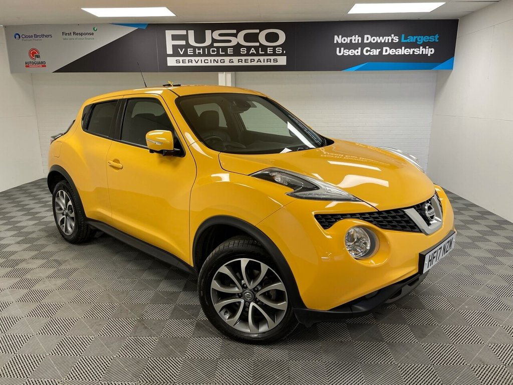 USED 2017 17 NISSAN JUKE 1.2 TEKNA DIG-T 5d 115 BHP NATIONWIDE DELIVERY AVAILABLE!