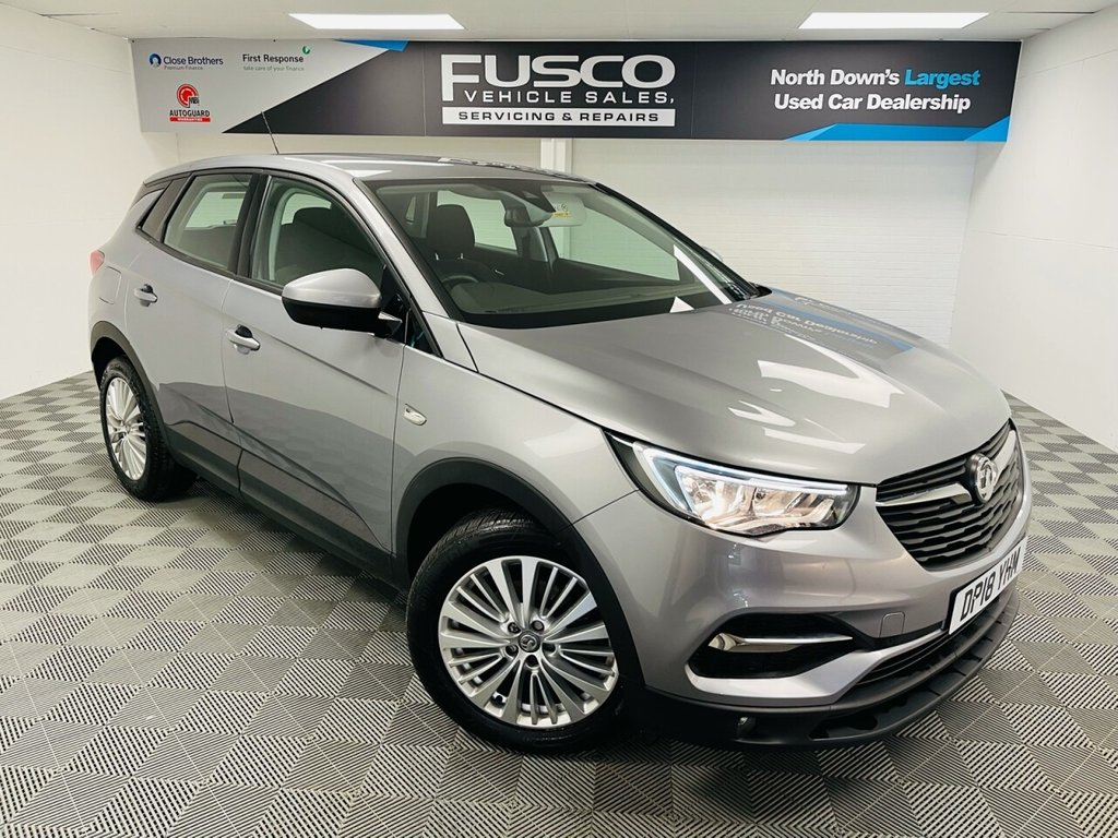 USED 2018 18 VAUXHALL GRANDLAND X 1.2 SE S/S 5d 129 BHP NATIONWIDE DELIVERY AVAILABLE!