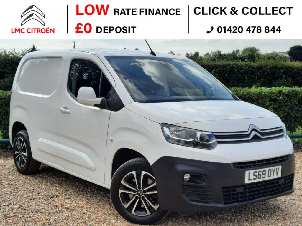 USED 2019 69 CITROEN BERLINGO 1.6 1000 DRIVER M BLUEHDI S/S 98 BHP ***PLY-LINED + AIRCON***
