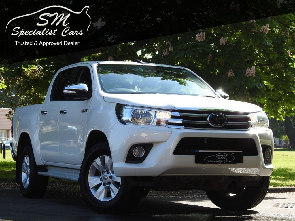 USED 2017 17 TOYOTA HI-LUX 2.4 ICON 4WD D-4D DCB 148 BHP ONLY 58K A/C VGC PRICE INC VAT