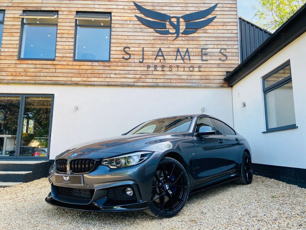 USED 2017 17 BMW 4 SERIES GRAN COUPE 3.0 430D XDRIVE M SPORT GRAN COUPE 4d 255 BHP