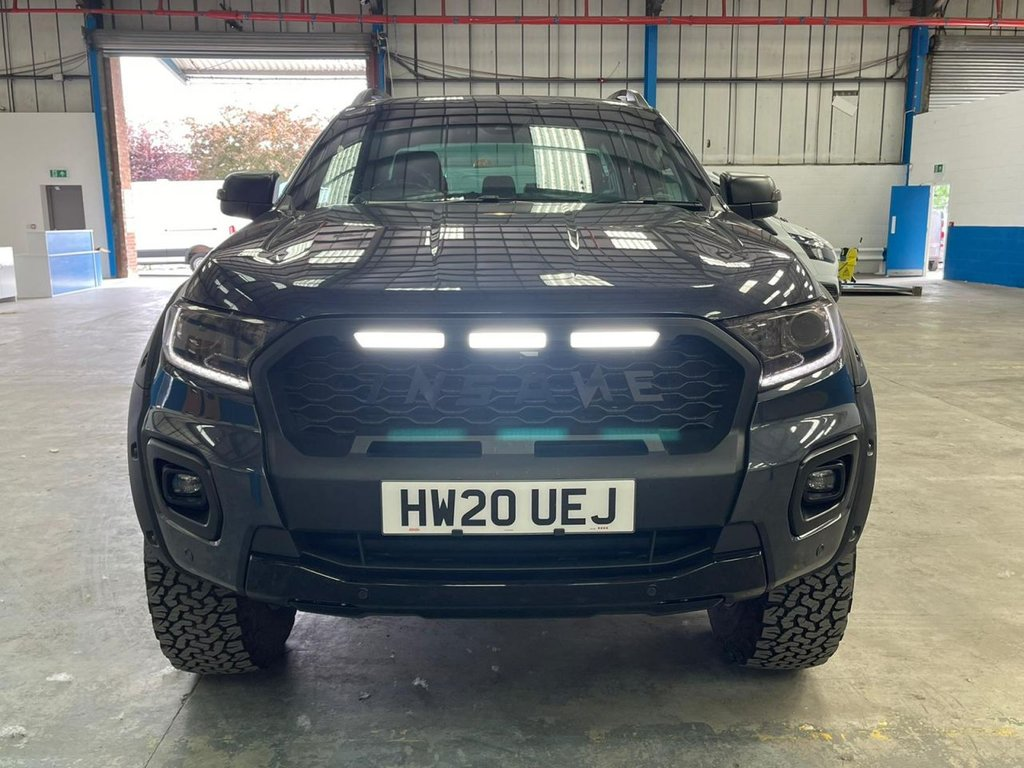 USED 2020 20 FORD RANGER 2.0 WILDTRAK ECOBLUE 210 BHP Ford Ranger modified by the fantastic Insane customising company withy many bespoke extras.  This vehicle truly stands out from the crowd!