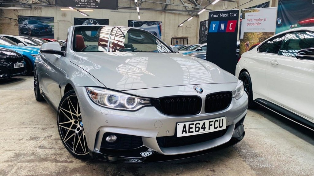 USED 2014 64 BMW 4 SERIES 2.0 420d M Sport Auto 2dr PERFORMANCEKIT+20S+XENONS