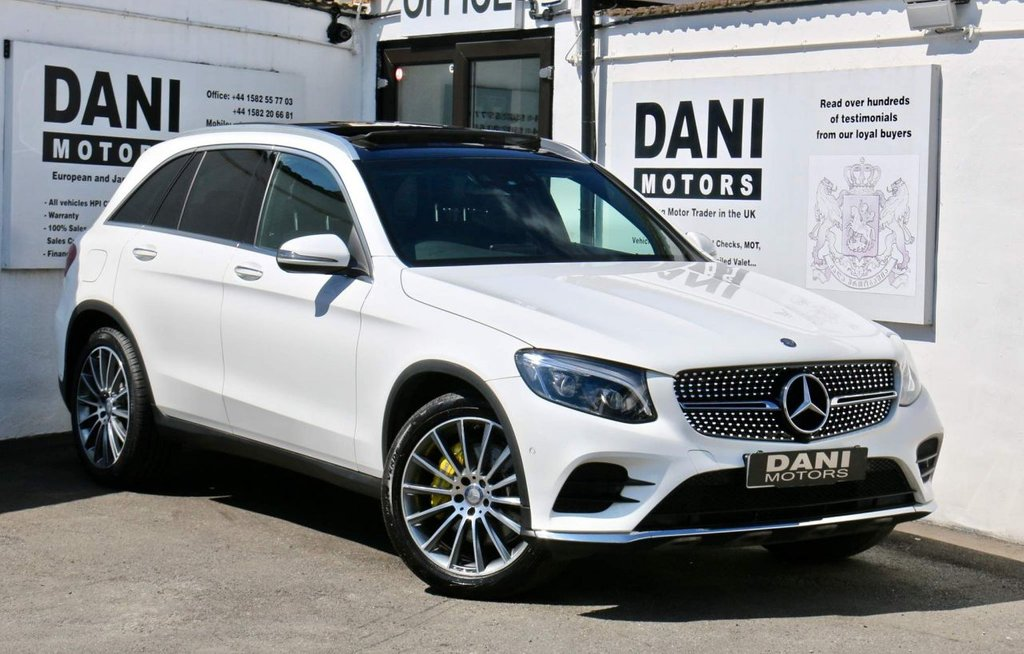 USED 2016 16 MERCEDES-BENZ GLC-CLASS 2.1 GLC250d AMG Line (Premium Plus) G-Tronic 4MATIC (s/s) 5dr 1 OWNER*PAN ROOF*REV CAMERA*