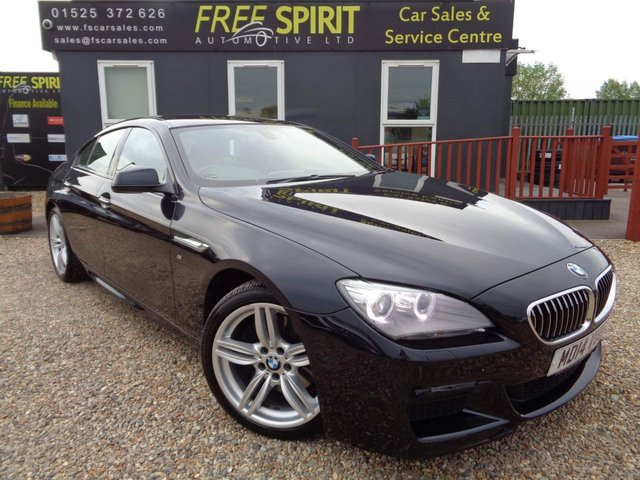 USED 2014 14 BMW 6 SERIES 3.0 640d M Sport Gran Coupe Steptronic 4dr Reverse Cam, Navigation