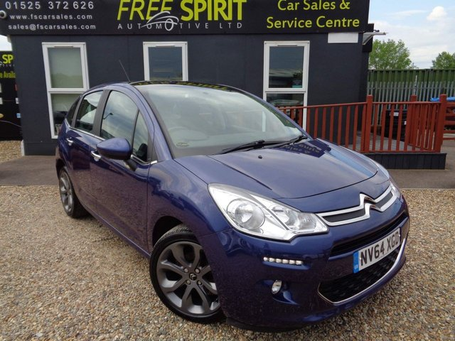 USED 2015 64 CITROEN C3 1.6 e-HDi Airdream Selection 5dr Bluetooth, Cruise, 2 Owners