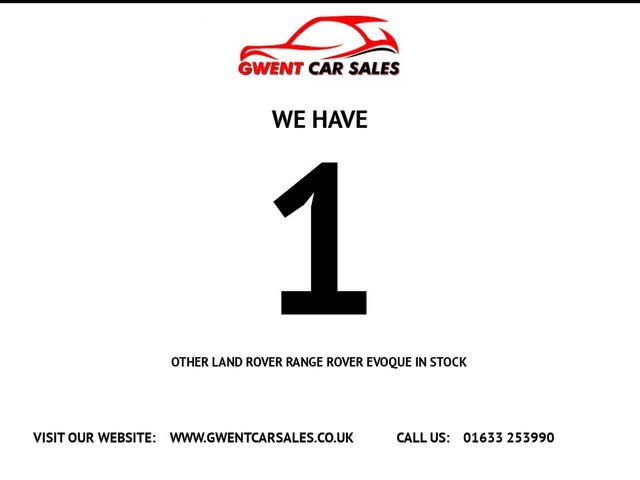 USED 2013 63 LAND ROVER RANGE ROVER EVOQUE 2.2 SD4 DYNAMIC LUX 5d 190 BHP **JUST ARRIVED AND AWAITING PREPARATION**