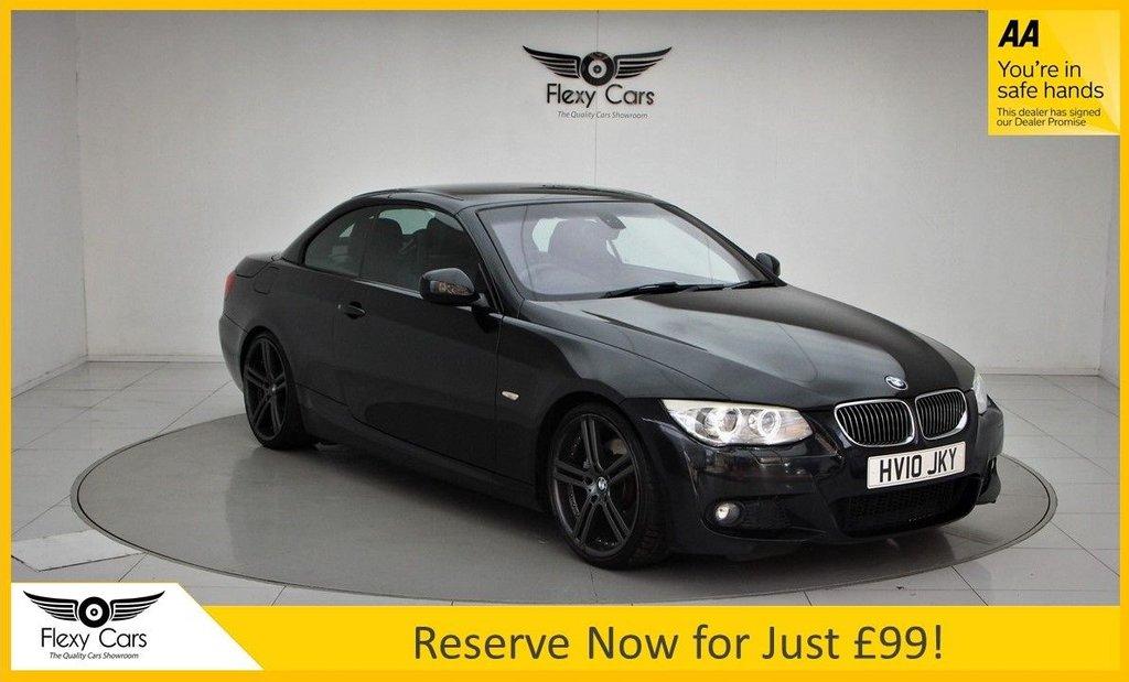 USED 2010 10 BMW 3 SERIES 3.0 325I M SPORT 2d 215 BHP