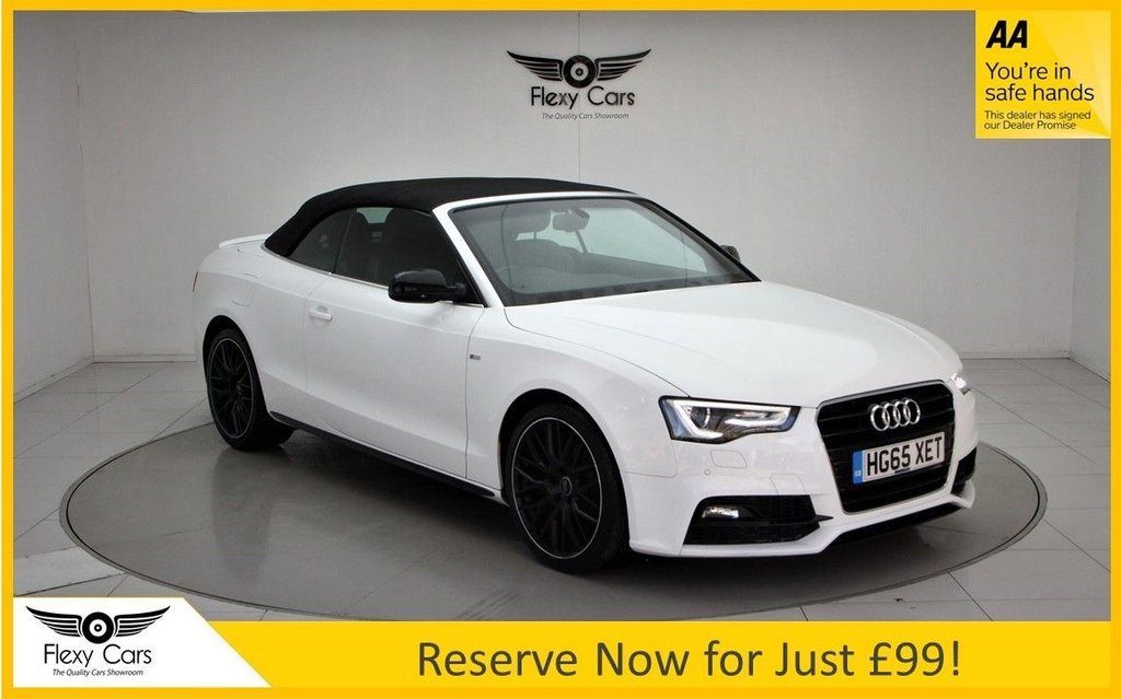USED 2015 65 AUDI A5 2.0 TDI S LINE SPECIAL EDITION PLUS 2d 187 BHP