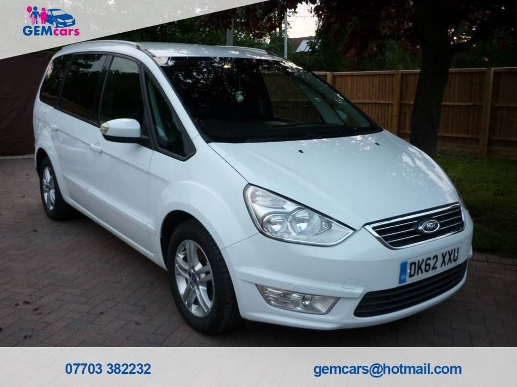 USED 2012 62 FORD GALAXY 2.0 ZETEC TDCI 5d 138 BHP GO TO OUR WEBSITE TO WATCH A FULL WALKROUND VIDEO