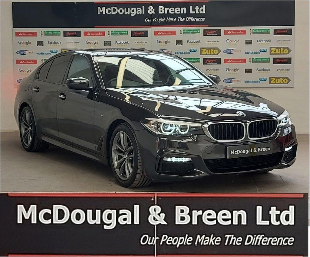 USED 2018 18 BMW 5 SERIES 2.0L 520D M SPORT 4d AUTO 188 BHP