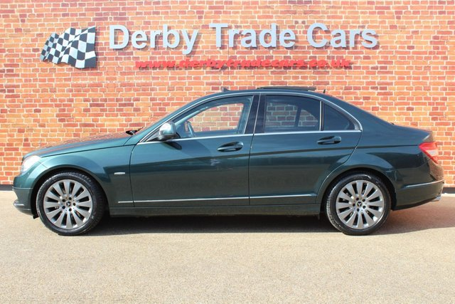 MERCEDES-BENZ C-CLASS at Derby Trade Cars