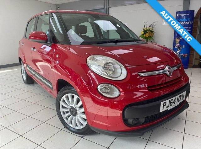 USED 2014 64 FIAT 500L 1.2 MULTIJET POP STAR DUALOGIC 5d 85 BHP PASADOBLE RED / CLOTH TRIM / AIRCON / BLUETOOTH / LOW MILEAGE AUTOMATIC