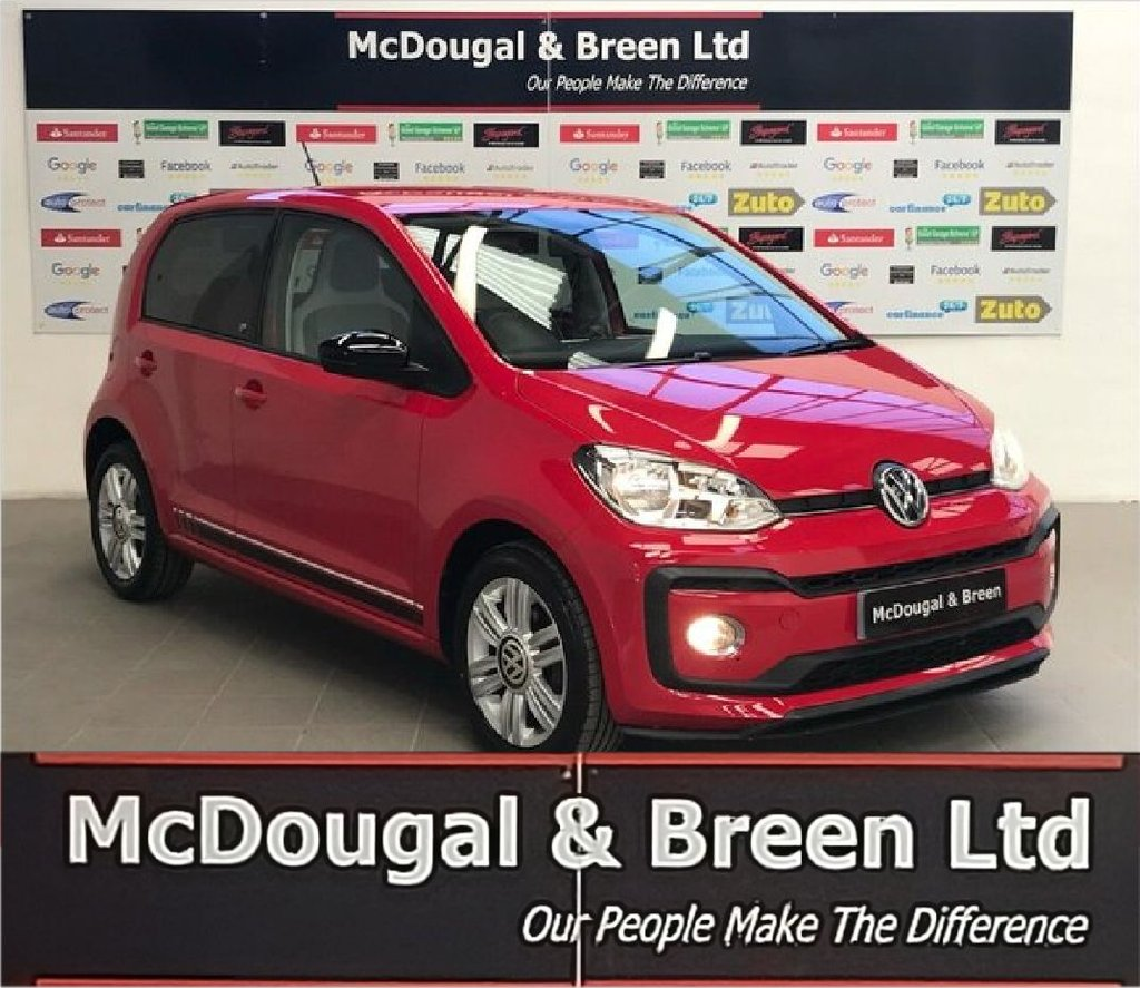 USED 2017 17 VOLKSWAGEN UP 1.0L UP BY BEATS 3d 89 BHP