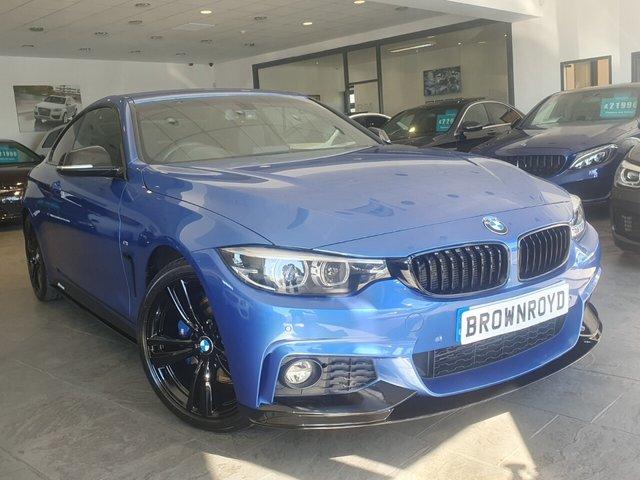 USED 2017 17 BMW 4 SERIES 2.0 420D M SPORT 2d 188 BHP BM PERFORMANCE STYLING+7.9%APR