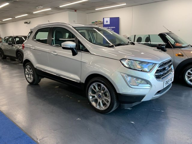 USED 2019 19 FORD ECOSPORT 1.0 TITANIUM 5d 124 BHP 1 owner from new with great spec including rear camera, touchscreen satnav and bluetooth phone preparation