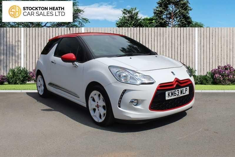 USED 2013 63 CITROEN DS3 1.6 DSPORT RED 3d 155 BHP