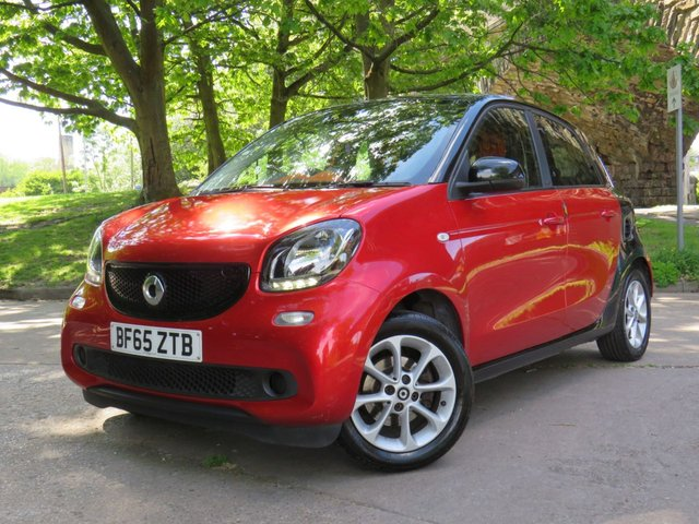 USED 2015 65 SMART FORFOUR 1.0 PASSION 5d 71 BHP