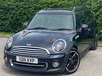 USED 2011 11 MINI CLUBMAN 1.6 COOPER HAMPTON 5d RECENTLY SERVICED, 12 MONTHS MOT, FULL LEATHER INTERIOR, BLUETOOTH, CRUISE CONTROL