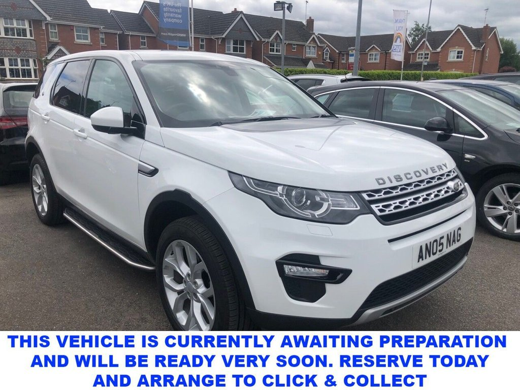 USED 2016 66 LAND ROVER DISCOVERY SPORT 2.0 TD4 HSE 5d 7 Seat Family 4x4 SUV AUTO with Massive High Spec FULL SERVICE HISTORY