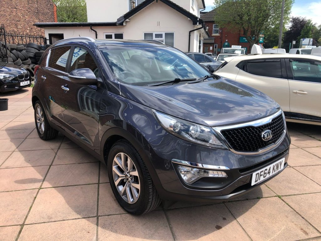 USED 2014 64 KIA SPORTAGE 1.6 2 ISG 5d 133 BHP Buy Online. Nationwide Delivery. Click  Collect