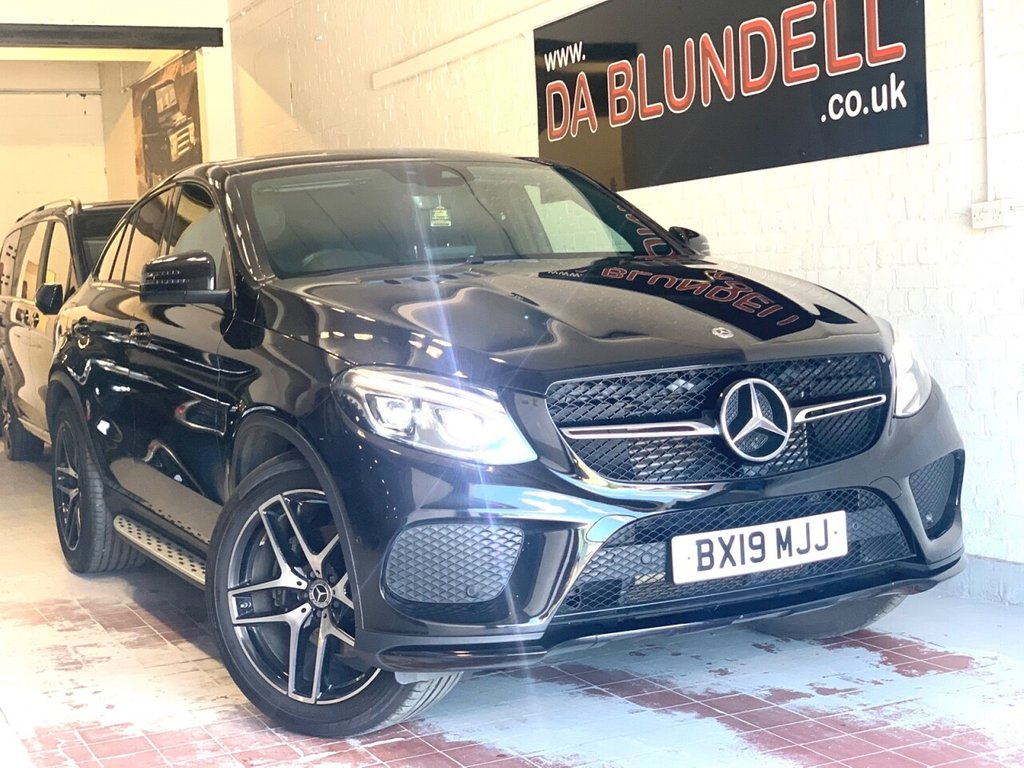 """USED 2019 19 MERCEDES-BENZ GLE-CLASS 3.0 GLE 350 D 4MATIC AMG NIGHT EDITION 4d 255 BHP VAT QUALIFYING+21"""" ALLOYS+FMSH"""