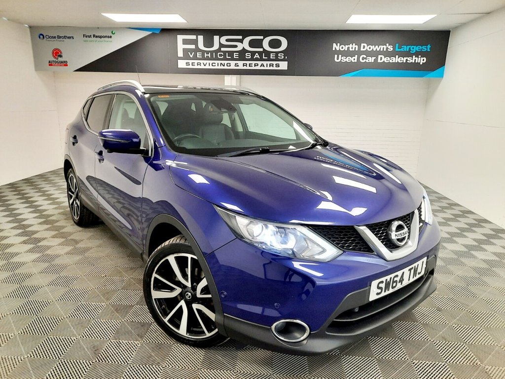 USED 2015 64 NISSAN QASHQAI 1.6 DCI TEKNA 5d 128 BHP NATIONWIDE DELIVERY AVAILABLE!