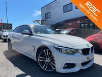 USED 2018 67 BMW 4 SERIES 2.0 420D M SPORT GRAN COUPE 4d AUTO 188 BHP