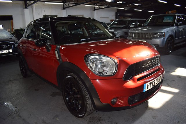 USED 2013 13 MINI COUNTRYMAN 1.6 COOPER S 5d 184 BHP AUTO  2 PREVIOUS KEEPER - AUTO - S/H TO 68K - HALF LEATHER - GLASS PANORAMIC ROOF - HEATED SEATS - CD BOOST