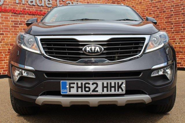 KIA SPORTAGE at Derby Trade Cars