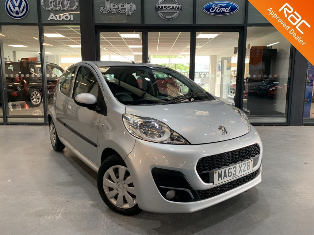 USED 2013 63 PEUGEOT 107 1.0 ACTIVE 5d 68 BHP Complementary 12 Months RAC Warranty and 12 Months RAC Breakdown Cover Also Receive a Full MOT With All Advisory Work Completed, Fresh Engine Service and RAC Multipoint Check Before Collection/Delivery