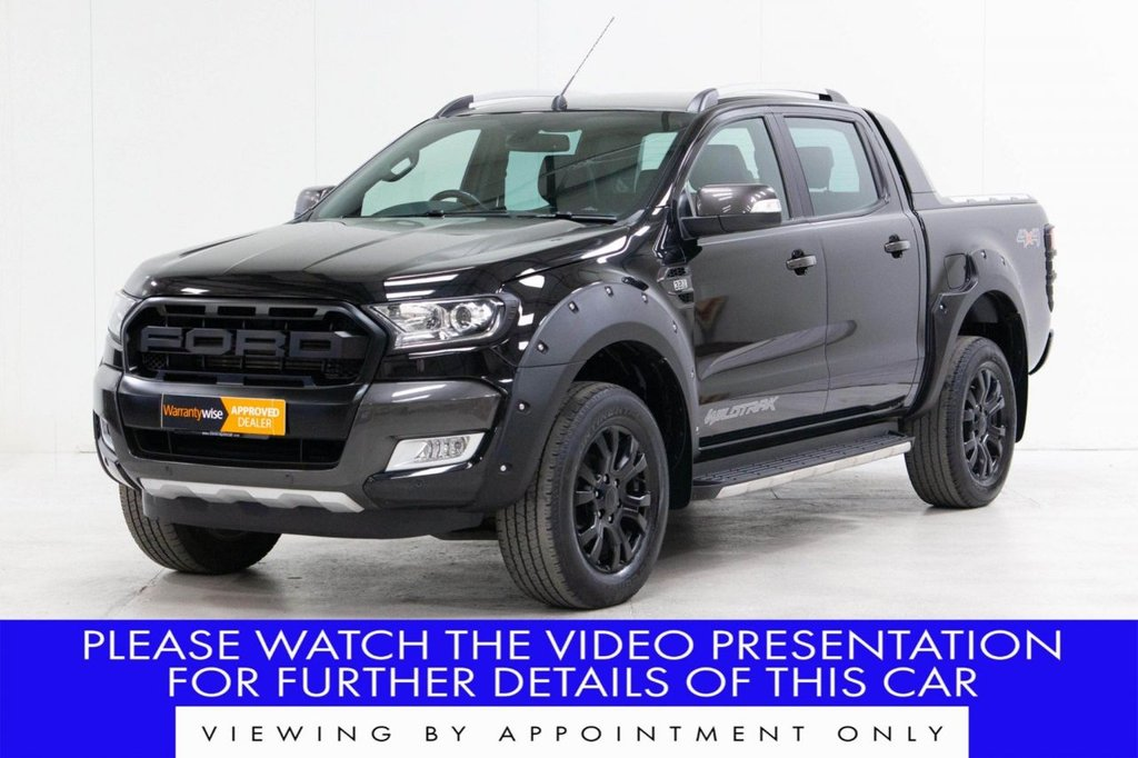 USED 2017 67 FORD RANGER 3.2 TDCi Wildtrak Double Cab Pickup Auto 4WD 4dr PLUS VAT*WIDE ARCH + GRILLE